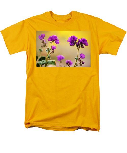 Men's T-Shirt  (Regular Fit) featuring the photograph Death Valley Superbloom 506 by Daniel Woodrum
