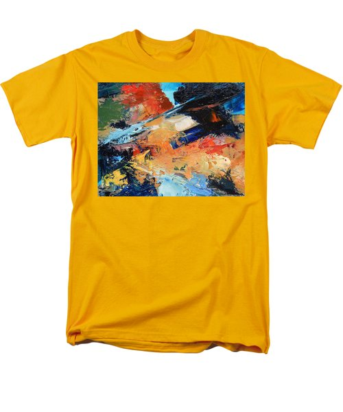 Men's T-Shirt  (Regular Fit) featuring the painting Demo Sketch by Gary Coleman