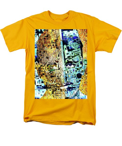 Men's T-Shirt  (Regular Fit) featuring the painting Dillinger by Tony Rubino