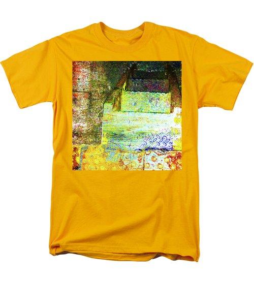 Men's T-Shirt  (Regular Fit) featuring the mixed media Down by Tony Rubino