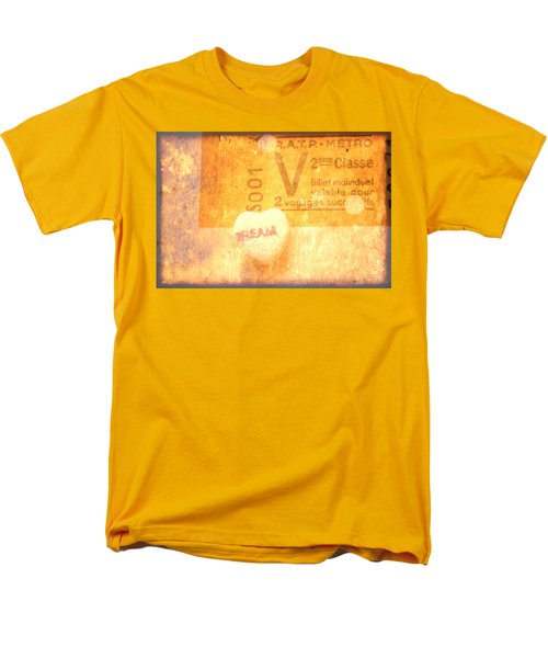 Men's T-Shirt  (Regular Fit) featuring the photograph Dream Ticket by Toni Hopper