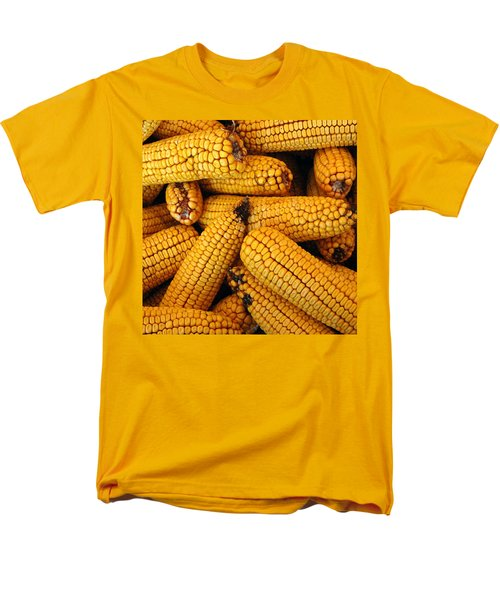 Dried Corn Cobs Men's T-Shirt  (Regular Fit) by LeeAnn McLaneGoetz McLaneGoetzStudioLLCcom