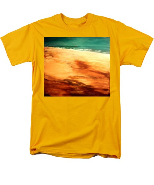 Men's T-Shirt  (Regular Fit) featuring the painting Dune Shadows by Winsome Gunning