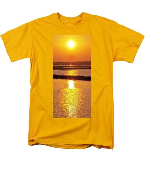 Easter Sunset Southwest Louisiana Men's T-Shirt  (Regular Fit) by John Glass