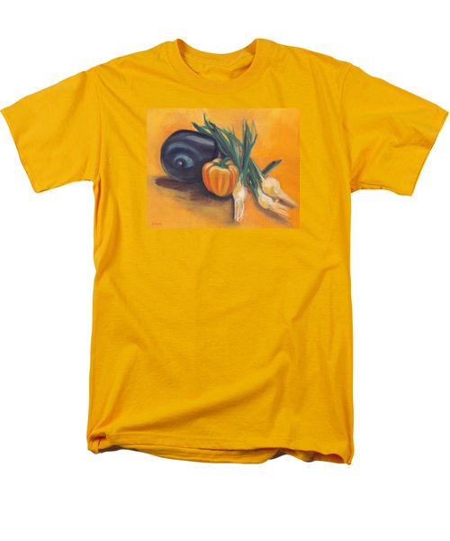 Men's T-Shirt  (Regular Fit) featuring the painting Eat Your Vegetables by Shawna Rowe