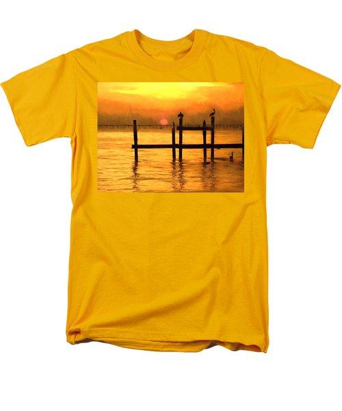 Elements Men's T-Shirt  (Regular Fit) by Kathy Bassett