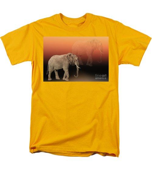 Elephant Dreams Men's T-Shirt  (Regular Fit) by Myrna Bradshaw