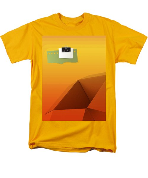 Outside Empty Box Men's T-Shirt  (Regular Fit) by Moustafa Al Hatter