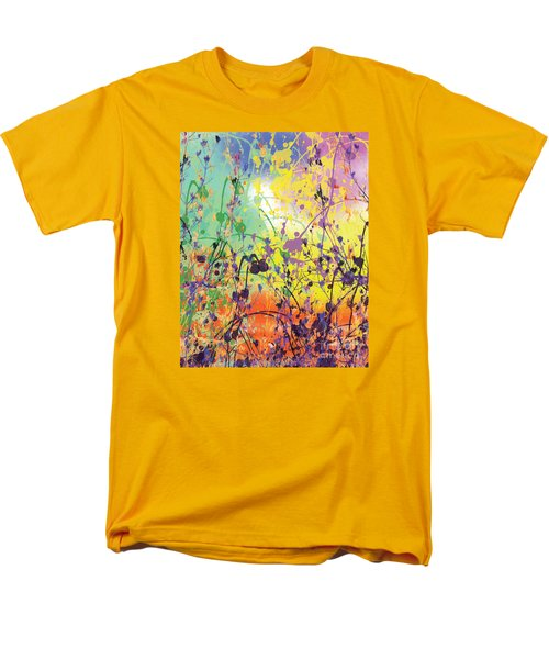 Men's T-Shirt  (Regular Fit) featuring the digital art End Of Summer 2015 by Trilby Cole
