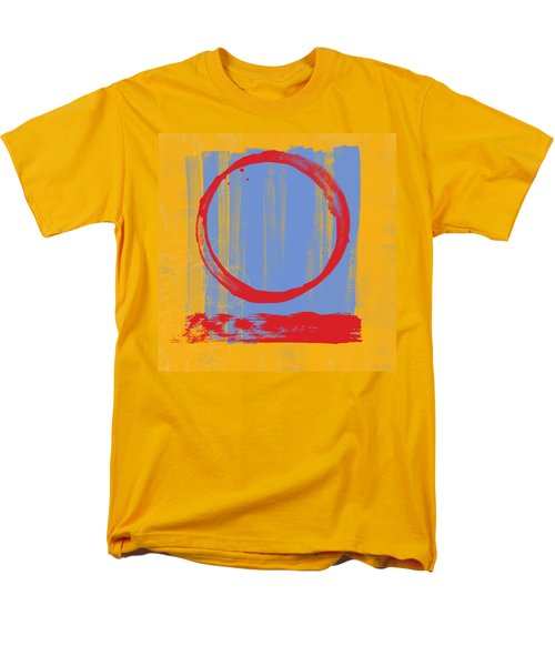 Men's T-Shirt  (Regular Fit) featuring the painting Enso by Julie Niemela