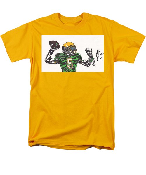 Everett Golson 1 Men's T-Shirt  (Regular Fit) by Jeremiah Colley