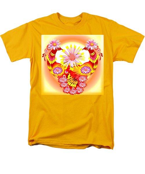 Exotic Peacocks Men's T-Shirt  (Regular Fit) by Belinda Threeths