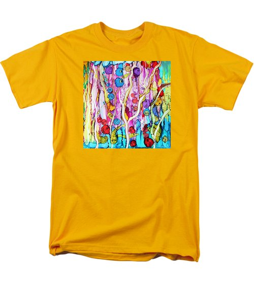 Men's T-Shirt  (Regular Fit) featuring the painting Finding Nemo by Suzanne Canner