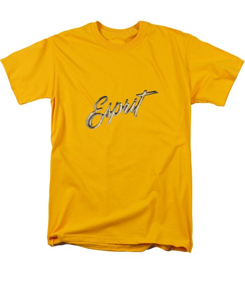 Firebird Esprit Chrome Emblem Men's T-Shirt  (Regular Fit) by YoPedro