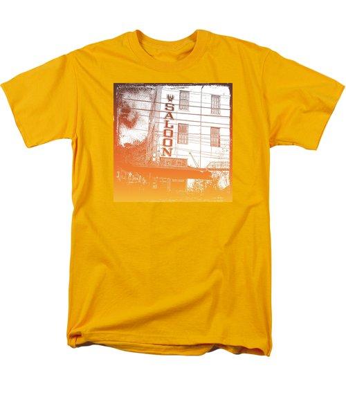 Men's T-Shirt  (Regular Fit) featuring the photograph First Bar In Texas For A Woman by Carolina Liechtenstein