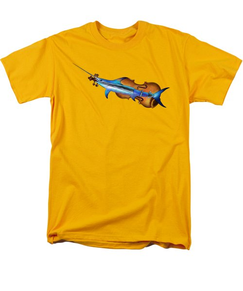 Fisholin V1 - Instrumental Fish Men's T-Shirt  (Regular Fit) by Cersatti