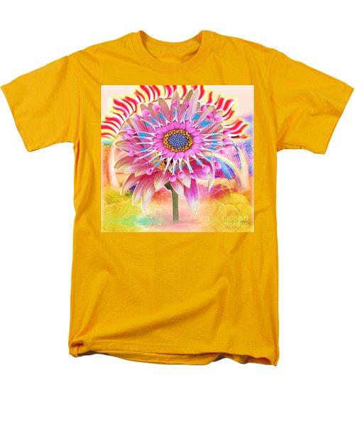 Flaming Sunrise Men's T-Shirt  (Regular Fit)