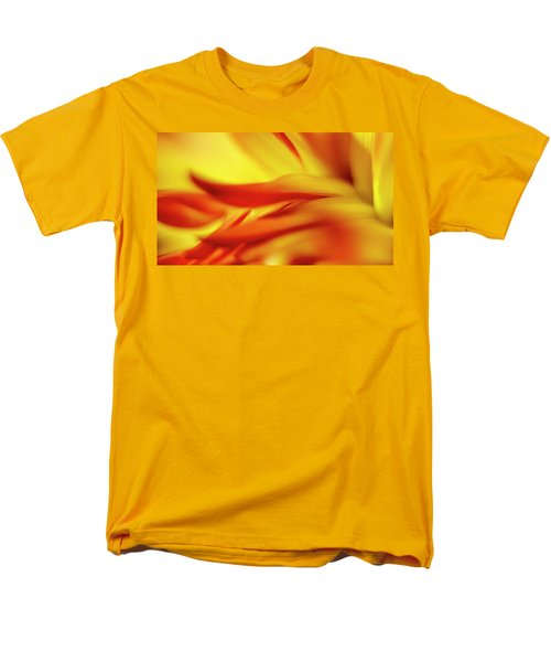 Flowing Floral Fire Men's T-Shirt  (Regular Fit) by Tony Locke