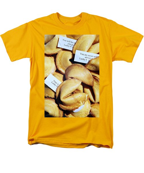 Men's T-Shirt  (Regular Fit) featuring the photograph Fortune Cookie by Vivian Krug Cotton