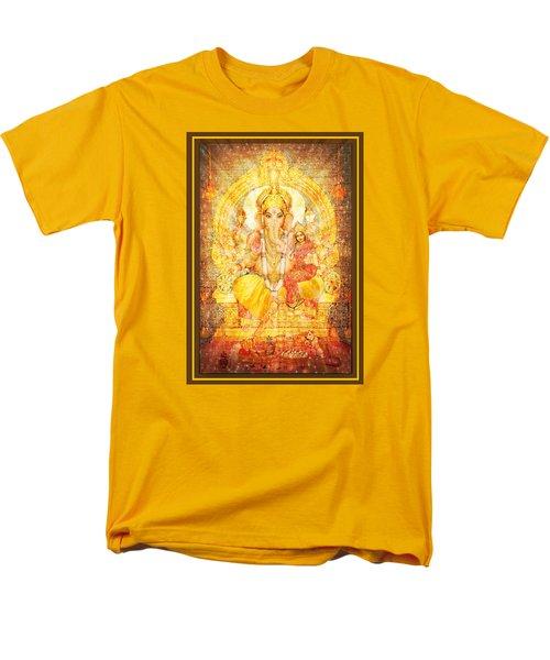 Ganesha Ganapati  Men's T-Shirt  (Regular Fit) by Ananda Vdovic