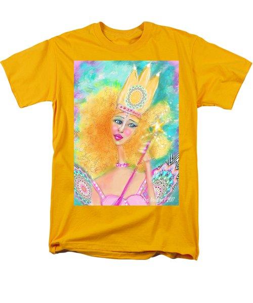 Men's T-Shirt  (Regular Fit) featuring the digital art Glenda by Kari Nanstad