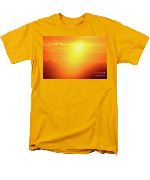Golden Light Men's T-Shirt  (Regular Fit) by Tatsuya Atarashi