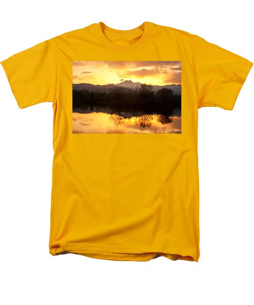 Golden Ponds Longmont Colorado Men's T-Shirt  (Regular Fit)