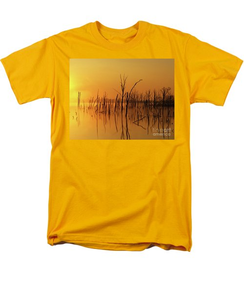 Golden Reflections Men's T-Shirt  (Regular Fit) by Roger Becker