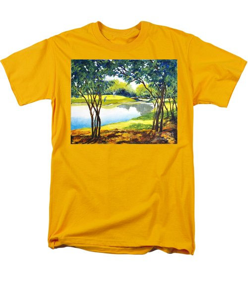 Golf Haven Men's T-Shirt  (Regular Fit) by Betty M M Wong