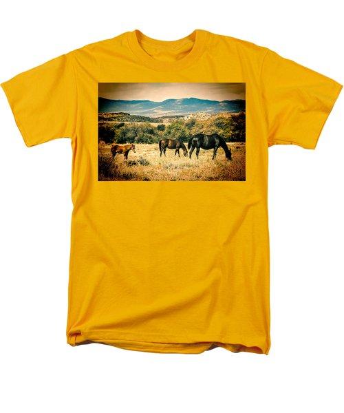 Grazing Men's T-Shirt  (Regular Fit) by Fred Larson
