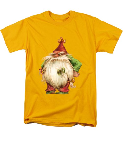 Grumpy Gnome Men's T-Shirt  (Regular Fit) by Andy Catling
