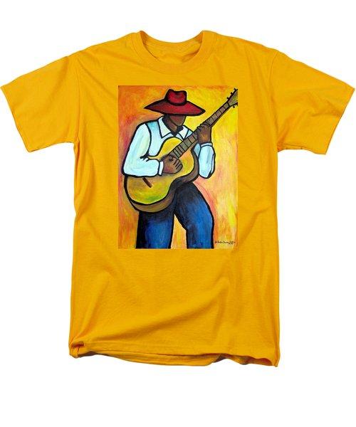 Guitar Man Men's T-Shirt  (Regular Fit) by Diane Britton Dunham