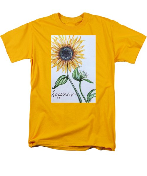 Happiness Men's T-Shirt  (Regular Fit) by Elizabeth Robinette Tyndall