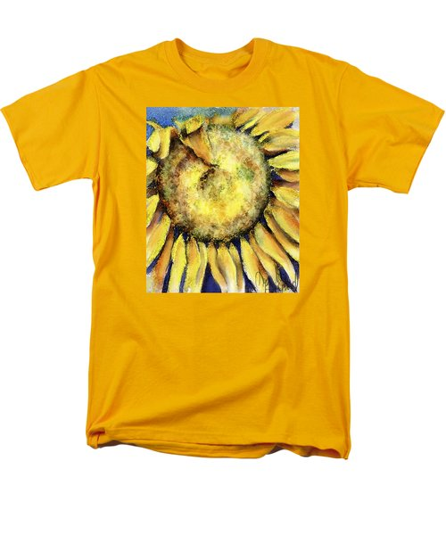 Men's T-Shirt  (Regular Fit) featuring the painting Happy Day by Annette Berglund
