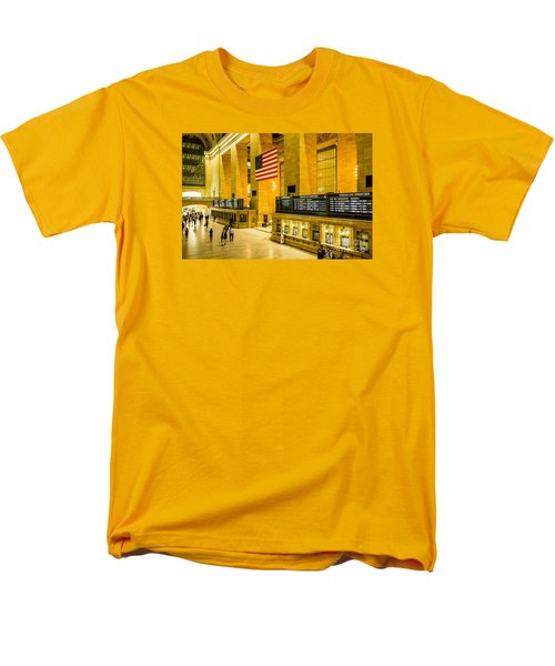 Grand Central Pride Men's T-Shirt  (Regular Fit) by M G Whittingham