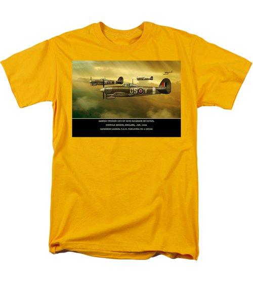 Hawker Typhoon Sqn 56 Men's T-Shirt  (Regular Fit) by John Wills