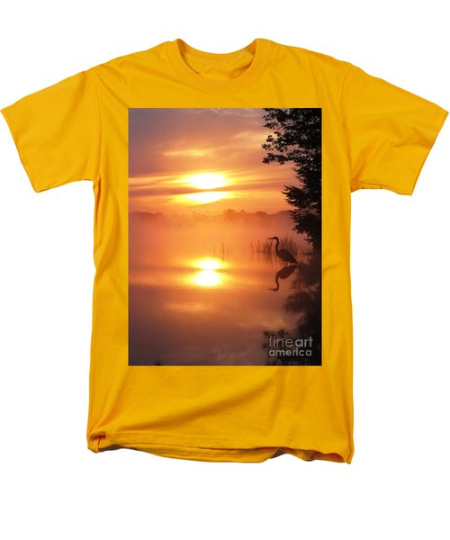 Men's T-Shirt  (Regular Fit) featuring the photograph Heron Collection 2 by Melissa Stoudt