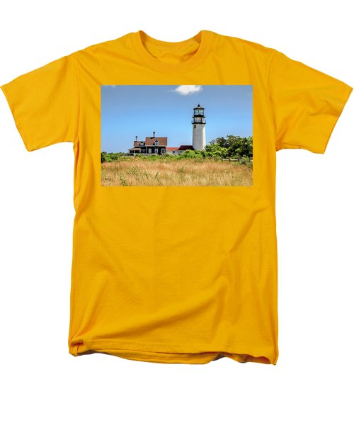 Highland Light - Cape Cod Men's T-Shirt  (Regular Fit) by Peter Ciro