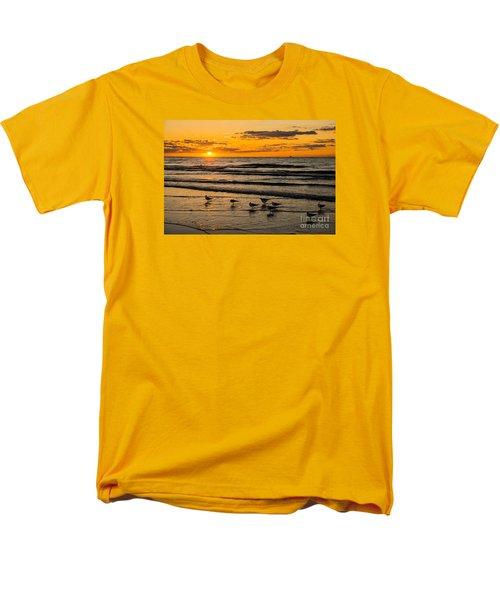Hilton Head Seagulls Men's T-Shirt  (Regular Fit) by Paul Mashburn