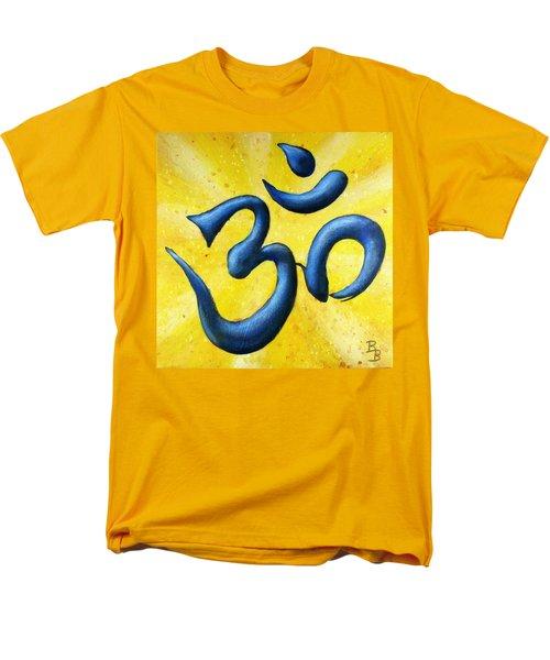 Hindu Om Symbol Art Men's T-Shirt  (Regular Fit)