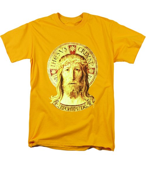 Men's T-Shirt  (Regular Fit) featuring the digital art Holy Face by Asok Mukhopadhyay