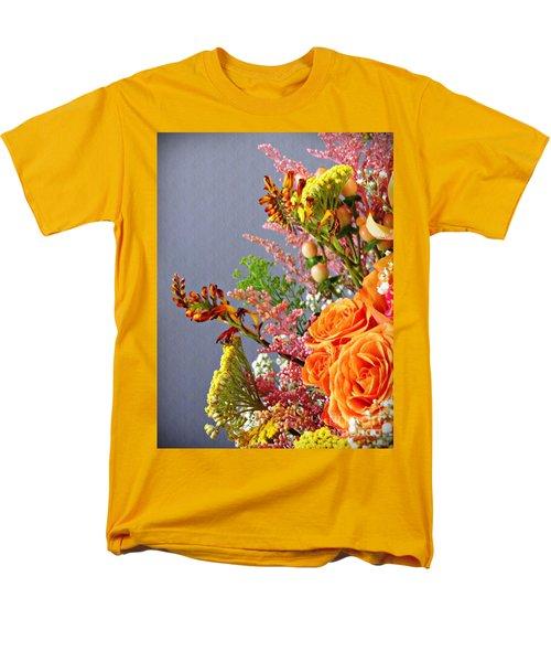 Men's T-Shirt  (Regular Fit) featuring the photograph Holy Week Flowers 2017 3 by Sarah Loft
