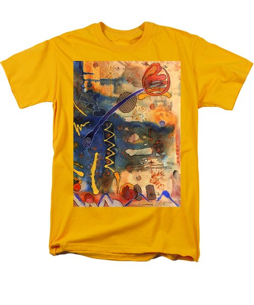 Hot Fun Out West In Arizona Men's T-Shirt  (Regular Fit) by Angela L Walker