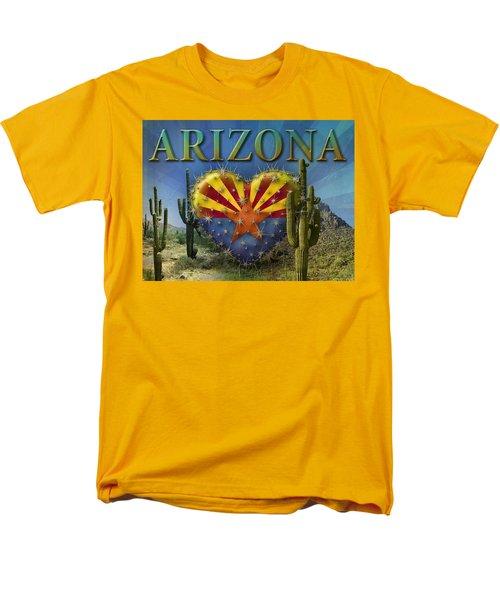 I Love Arizona Landscape Men's T-Shirt  (Regular Fit)