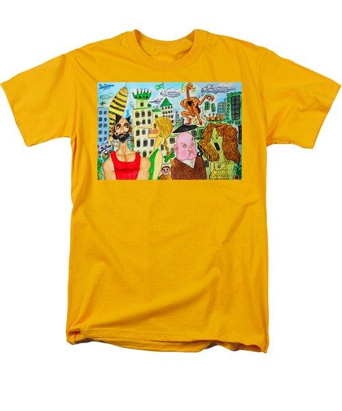 I Wanna Dineroh / I Wanna Money Men's T-Shirt  (Regular Fit) by Don Pedro De Gracia