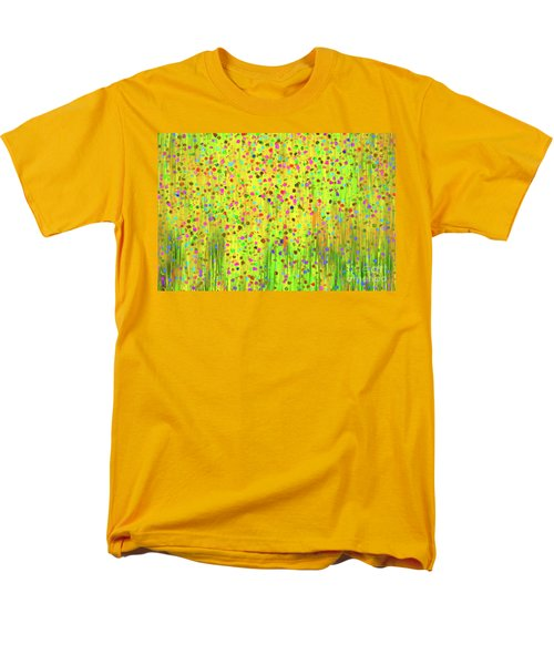 Impressionist Meadow Men's T-Shirt  (Regular Fit) by Silvia Ganora