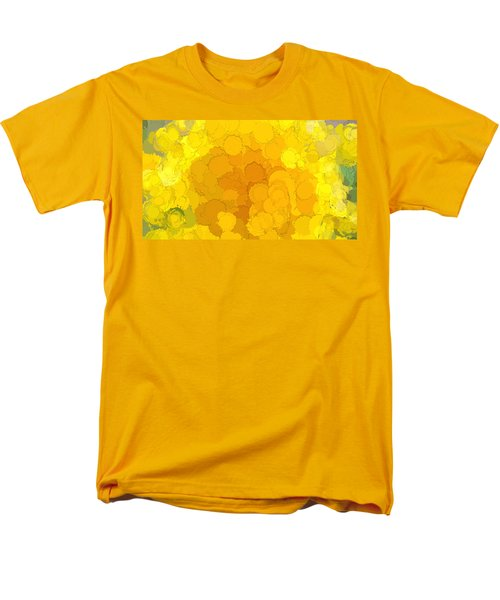 In Color Abstract 14 Men's T-Shirt  (Regular Fit) by Cathy Anderson