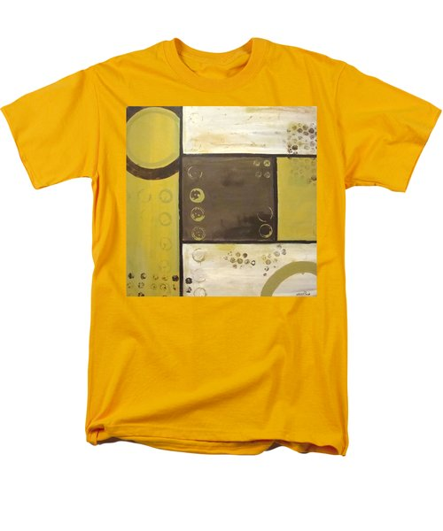 Industrial Circles No.2 Men's T-Shirt  (Regular Fit) by Steven R Plout