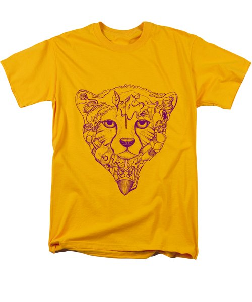 Iranian Cheetah Men's T-Shirt  (Regular Fit) by Adam Campbell