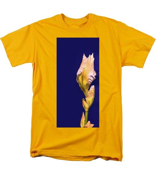 Iris Beginning To Bloom #g0 Men's T-Shirt  (Regular Fit) by Leif Sohlman